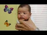 Педиатр показал как моментально успокоить плачущего ребенка. Техника