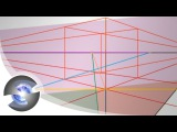 How to Draw a Perfect Square and Cube in 2 Point Perspective