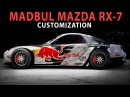 NFS 2015 - MADBUL Mazda RX-7 (Speed Art / Cinematic / Customization / PC)