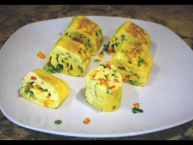 Омлет по-японски - Tamagoyaki (卵焼き or 玉子焼き) - Japanese rolled omelette