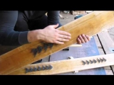 Охотничьи лыжи и как сделать шетину против отката(отдачи) лыж