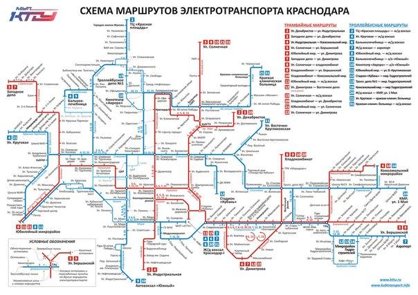 Схема движения по новым дорогам