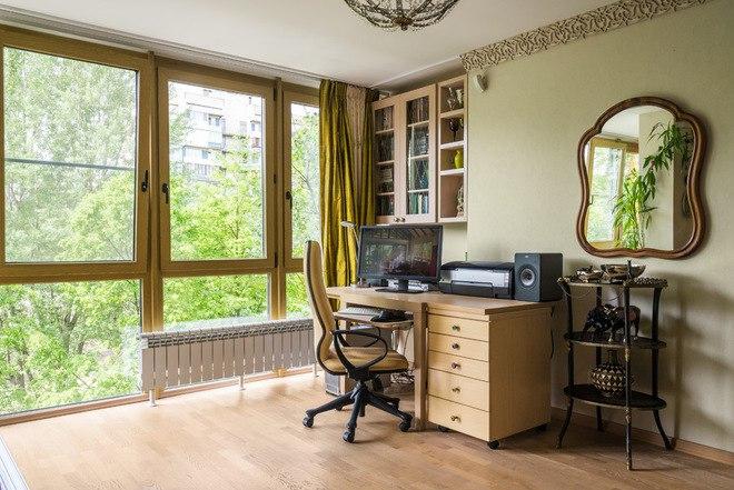 Интерьер квартиры 38 м в Санкт-Петербурге.