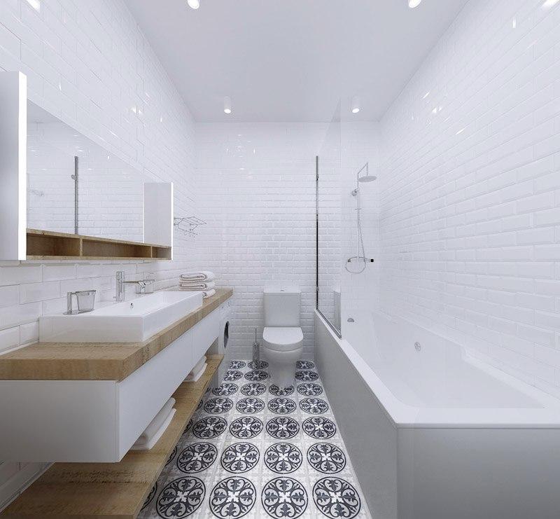 Концепт студии 30-35 м в скандинавском стиле для апарт-отеля в Санкт-Петербурге.