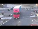Авария на жд переезде в Чехии