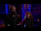 Mylene Farmer Sting - Stolen car (The Tonight Show, NBC, 4 decembre 2015)