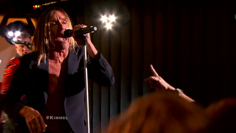 Iggy Pop Lust For Life Jimmy Kimmel Live