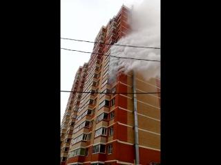Пожар в Октябрьском городке 1