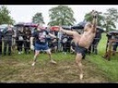 Латвийский Дьявол против Эгона, Сумасшедший Бой !