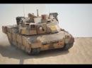 Французский основной боевой танк AMX-56 Leclerc в действии