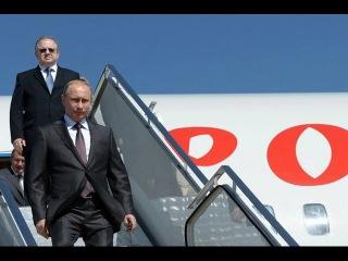 Владимир Путин прибыл в Крым с рабочим визитом