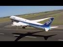 Вертикальный взлёт пассажирского самолёта захватывающее видео BOEING 787 9