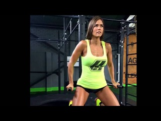 Tatiana USSA GIRARDI Fitness/Gym Workout Routine Female Muscle, ABS, BUTT and LEGS