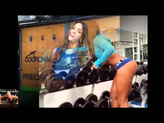 Tatiana USSA GIRARDI Fitness/Gym Workout Routine - Female Muscle, ABS, BUTT and LEGS