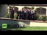 США: Панихида по Нэнси Рейган провел в Санта-Монике.