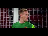 Marc Andre ter-Stegen vs Bayer Leverkusen Away 2015/16