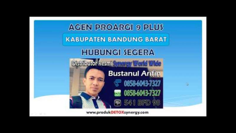 Agen ProArgi 9 Kabupaten Bandung Barat   0858-6043-7327   0895-1863-5270   Kang Arif   Synergy