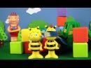 Видео для детей. Пчелка Майя играем в жмурки