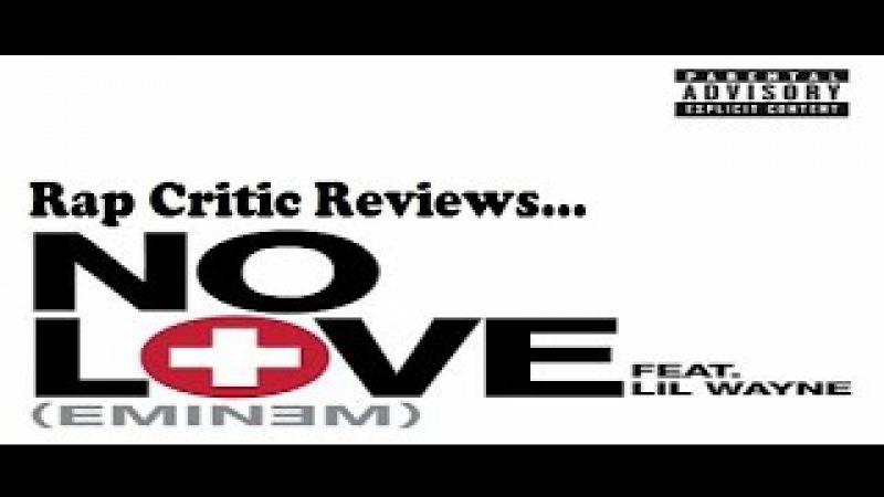 Andre Jaxon -Rap Critic Review Eminem Feat Lil Wayne No Love (Rus Vo)