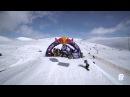 Съемка с вертолета. Red Bull Roll the Dice 2013