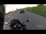 Kawasaki ZZR 1400 vs Mercedes E63 AMG (ab 4 min)