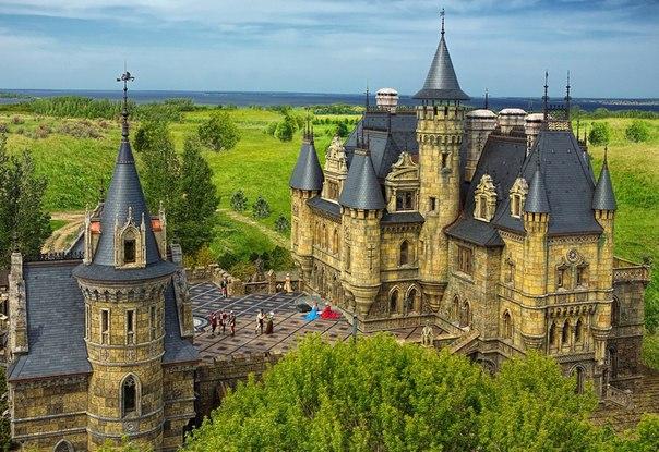 Замок Гарибальди — новый туристический комплекс