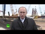 Владимир Путин поздравил россиян с праздником воссоединения Крыма и Севастополя с Россией