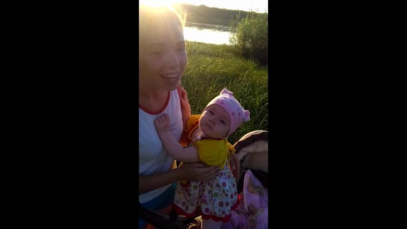 Моя дочь и её мамка крёстная)