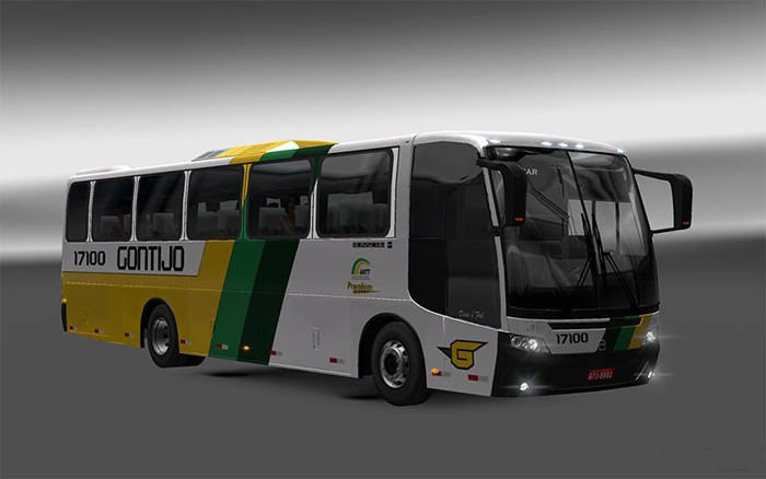 Euro Truck Simulator 2 автобус — мод BUSSCAR El Buss 340