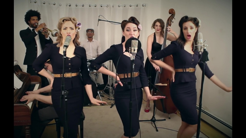 No Scrubs TLC 1940s Cover by Robyn Adele Anderson feat Darcy Wright and Sarah Krauss Postmodern Jukebox
