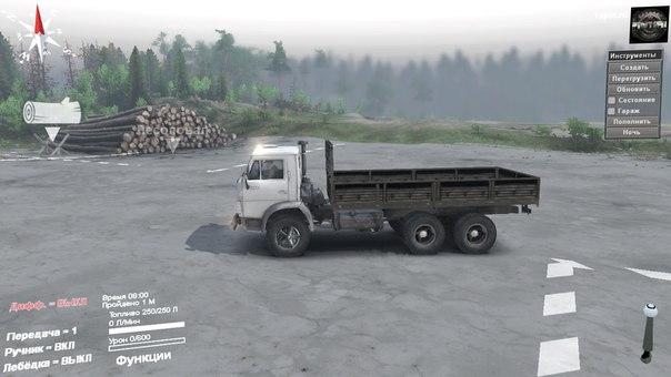 КамАЗ-55102 для Spintires - Скриншот 1