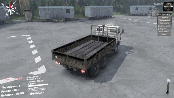 КамАЗ-55102 для Spintires - Скриншот 2