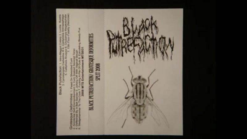 Black Putrefaction - split CS with Grotesque Deformities (2008 - Cybergore _ Gorenoise _ Industrial)