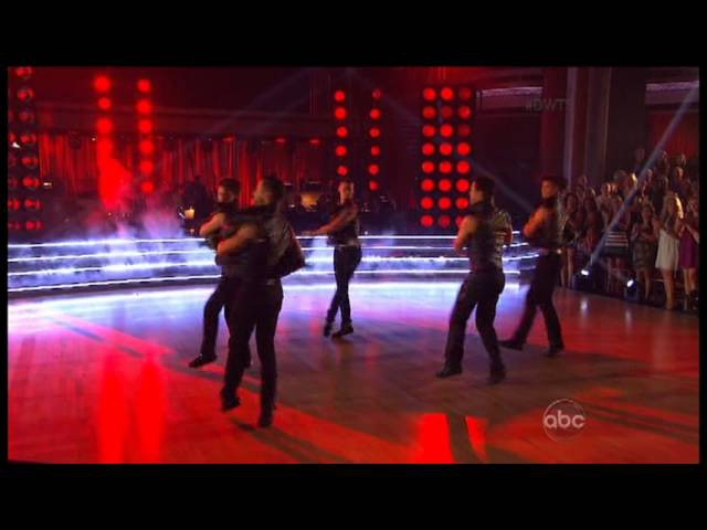 DWTS S16 Week 3 All Male Pro Dance