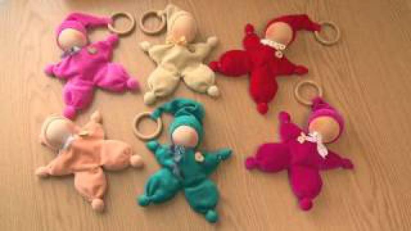 Как сделать куклу - Малышарика