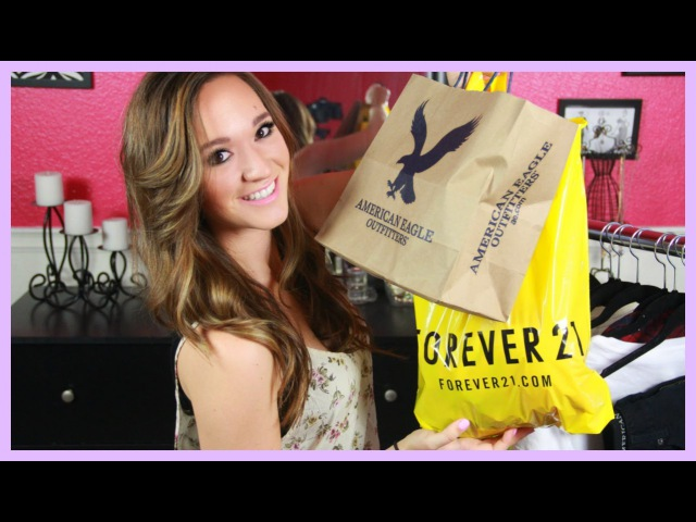 Back to School Clothing Haul 2013 ♡ Forever 21, American Eagle, Dailylook, and More!