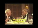 Arthur Rubinstein, Mstislav Rostropovitch and Galina Vishnevskaya Deauville 1980