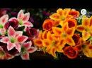 Kvitu представлет новинку! № 627 Букет лилия с бутонами роз, 65 см.