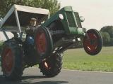 Дрифт на тракторе (425 л.с)