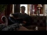Klaus reading William Blake's poem