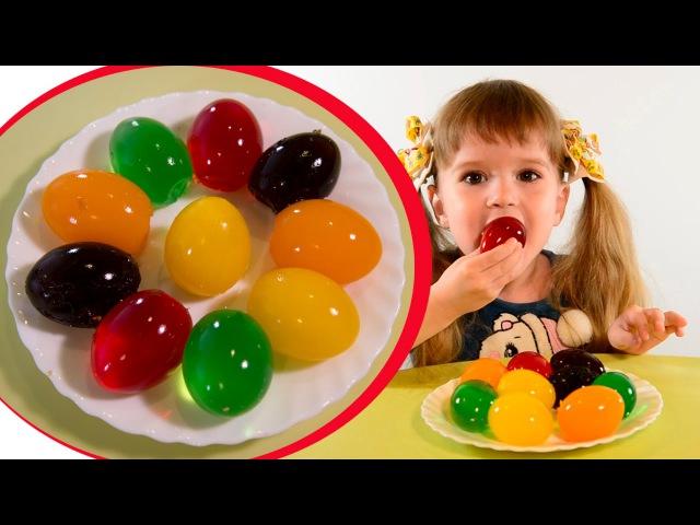 Семья Н-СК ❤ Необычные пасхальные яйца из желе делаем сами своими руками
