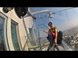 На 70-м этаже небоскрёба Лос-Анджелеса появилась стеклянная горка (новости)