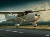 Учебный фильм на самолете C-172S