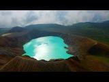 夏の草津白根山を空中散歩・4K撮影