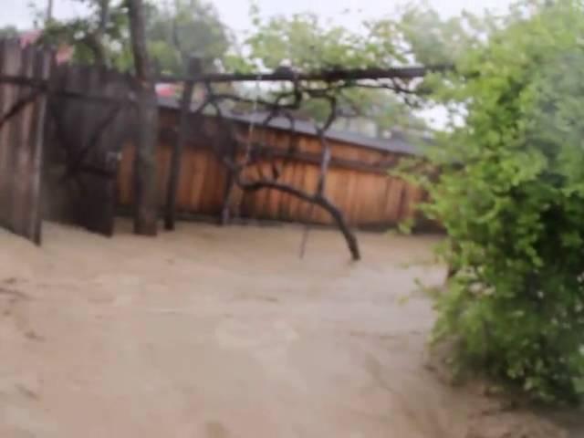 Inundații Pîrjol Bacău. Bătrână luată de ape
