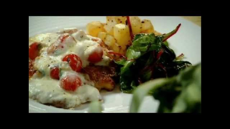 Escalopes of Chicken with Sautéed Potatoes and Red Chard Gordon Ramsay