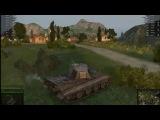 Немецкий тяжёлый танк Е 75 в бою