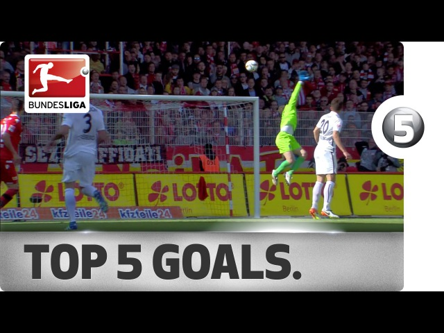 Dancing Past Defences and Sweet Curlers - Top 5 Goals on Matchday 34