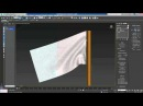 3ds Max Tutorial - Cloth Simulation 2 (Flag and Wind)