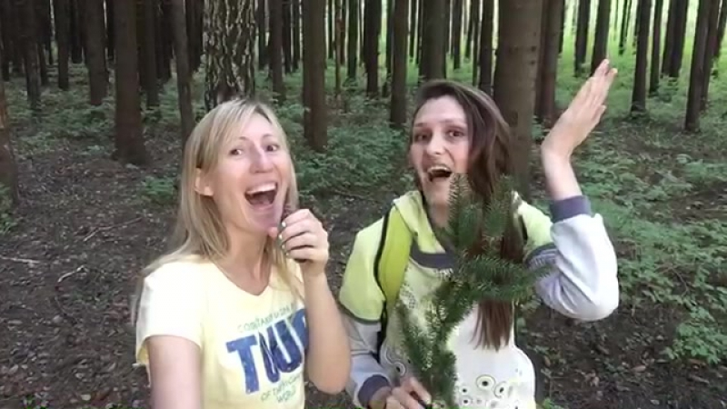 Ни дня без стёба/клип В лесу родилась ёлочка 😅 » Freewka.com - Смотреть онлайн в хорощем качестве